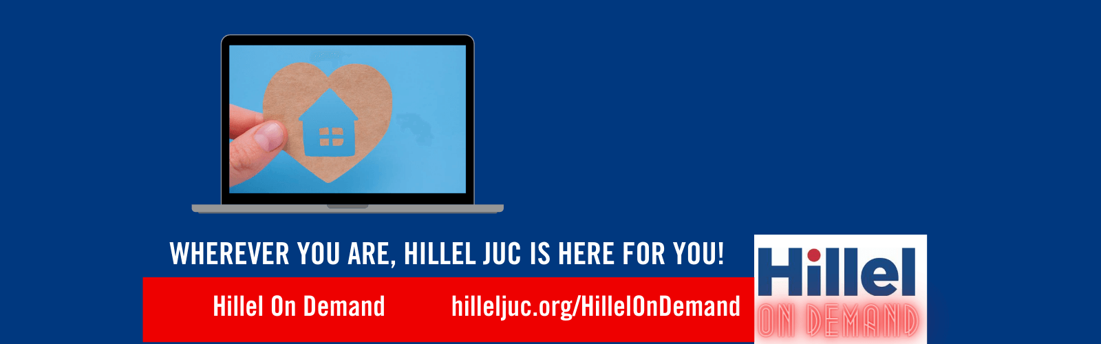 Welcome to Hillel JUC's HillelOnDemand Page!